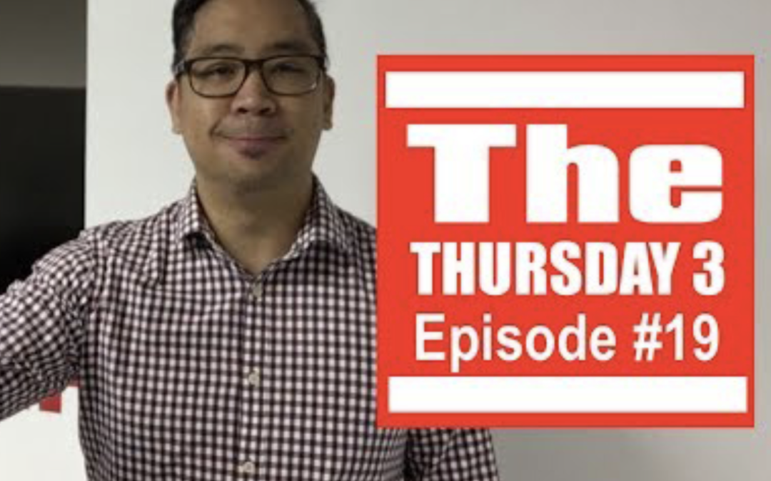 Thursday 3 – Episode 19 –  Stop Selling, Value Time